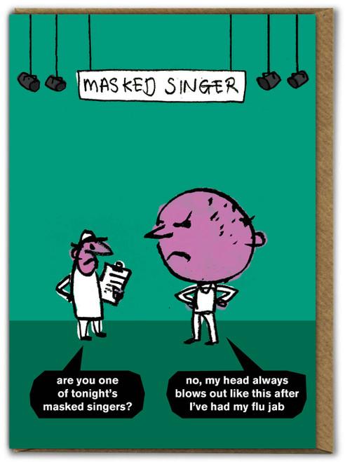 Masked Singer Card