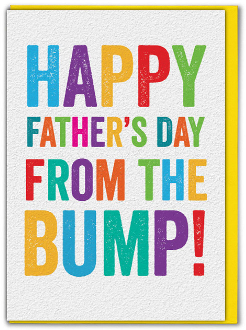 Happy Father's Day Bump