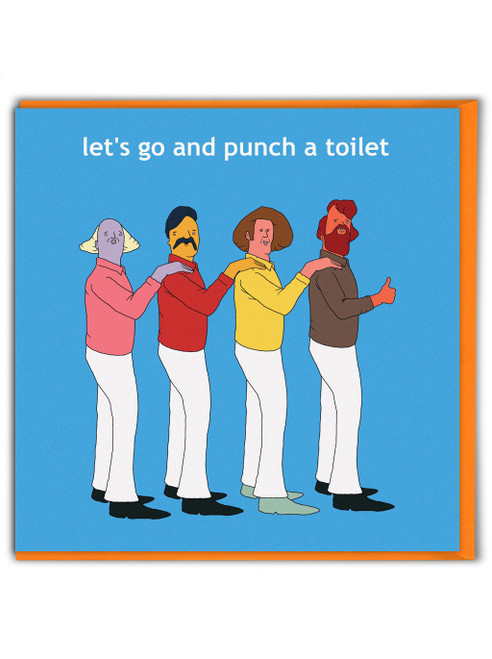 Punch A Toilet