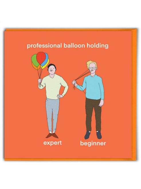 Balloon Holding
