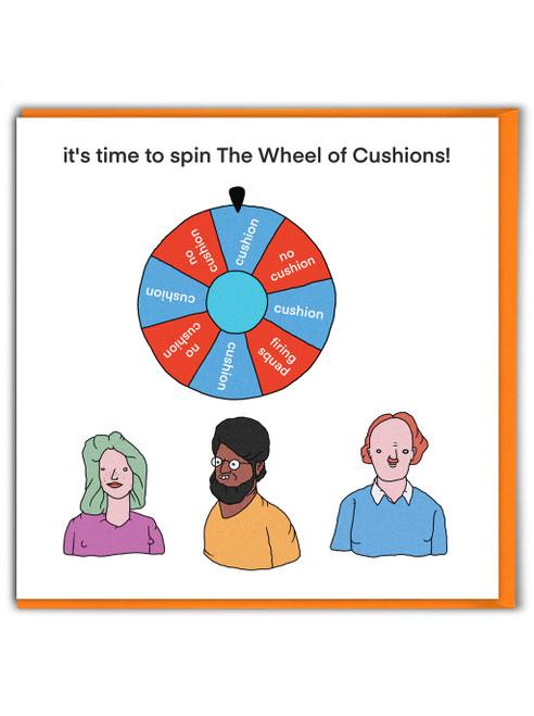 Wheel Of Cushions