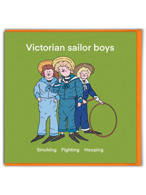 Victorian Sailor Boys
