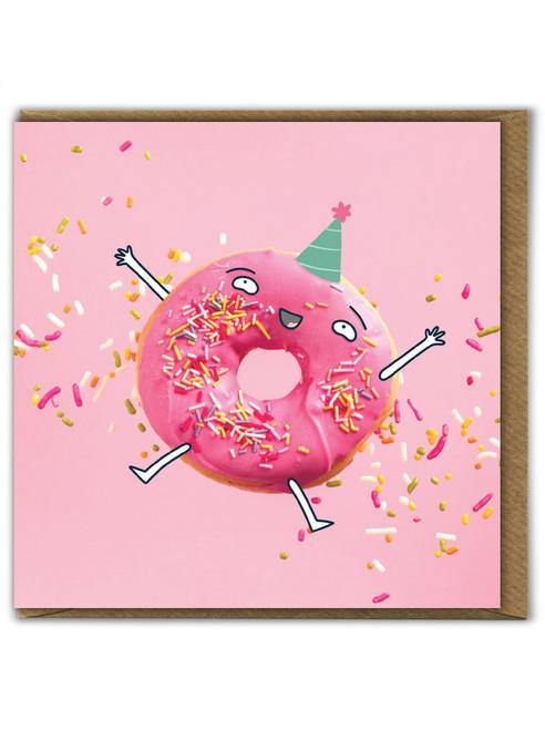 Doughnut Sprinkles Birthday Card