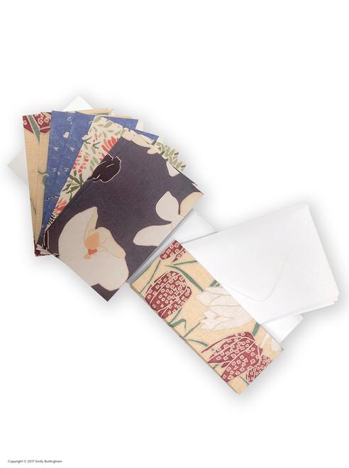 8 Pack of Mixed Design (Boxed) Greeting Cards - Emily Burningham Range