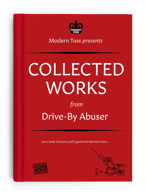 Signed Drive By Abuser Book - New