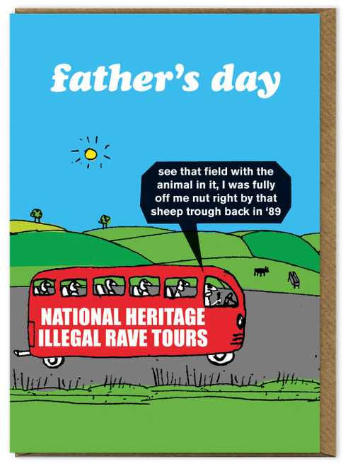 Father's Day Illegal Rave Tours