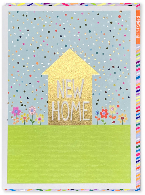 New Home Gold Foil Card