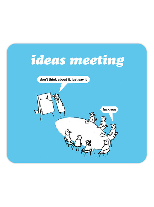Ideas Meeting Mouse Mat Pad