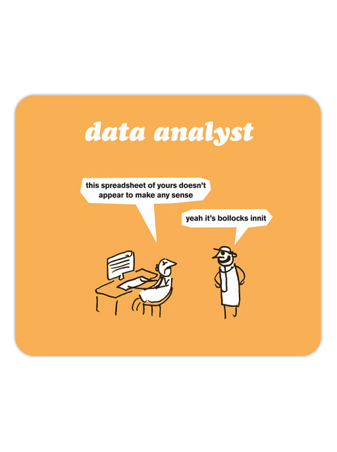 Data Analyst Mouse Mat Pad