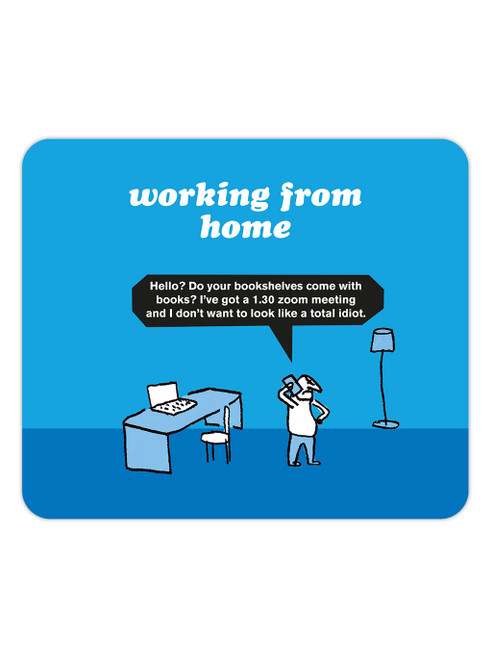 Zoom Meeting Mouse Mat Pad