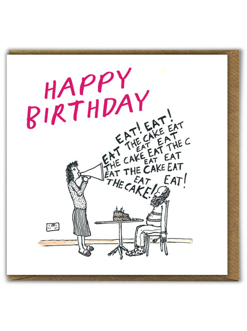 Eat The Cake Card