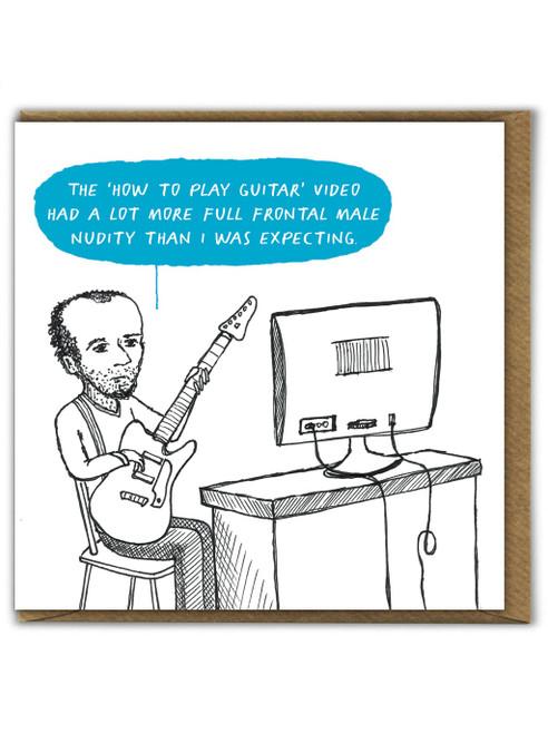 Guitar Video Card