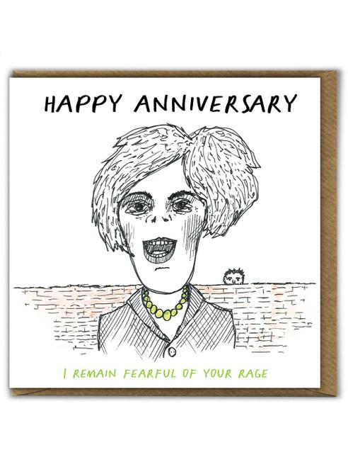 Remain Fearful Anniversary Card