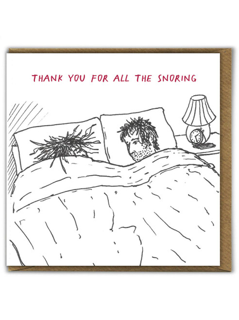 Thanks For Snoring Card