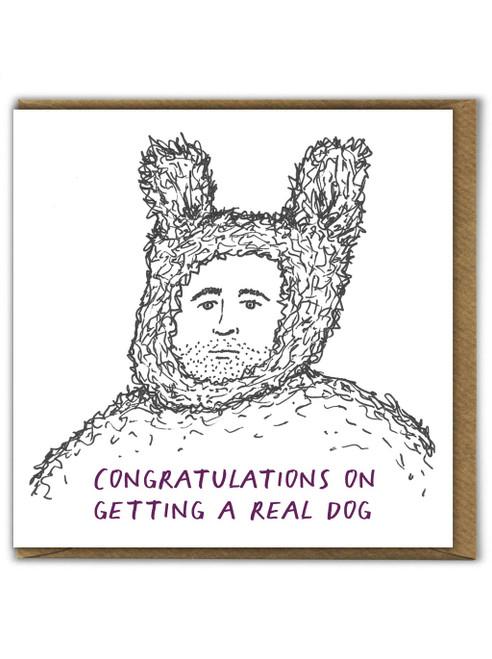 Real Dog Card