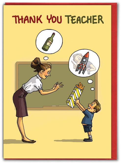 Thank You Teacher Wine