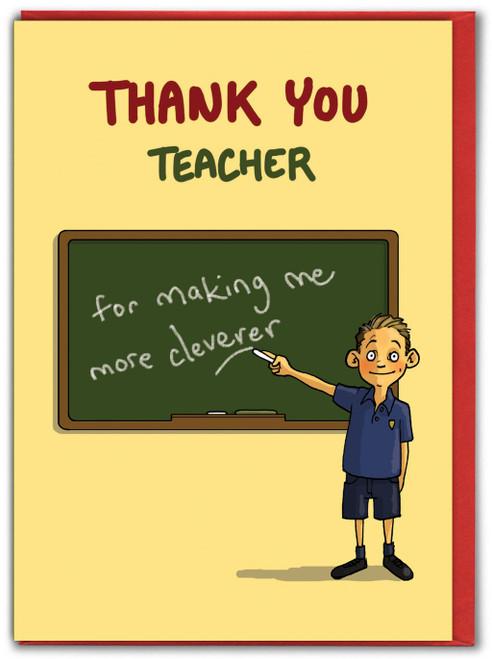 Thank You Teacher Boy