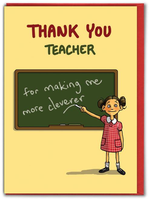 Thank You Teacher Girl