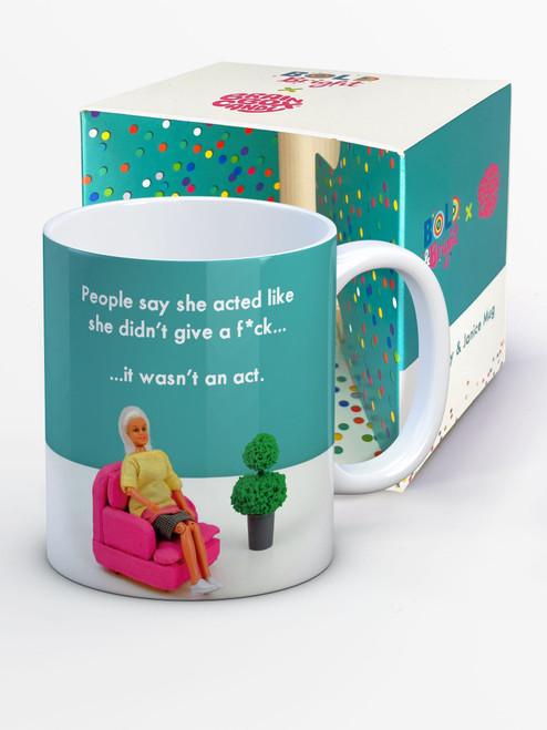 Didn't Give A F*ck Boxed Mug