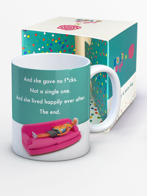 Gave No F*cks Boxed Mug