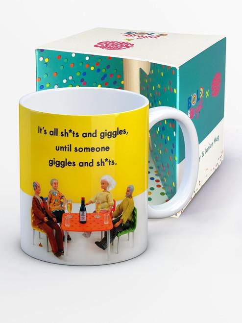 Sh*ts And Giggles Boxed Mug