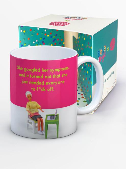 Googled Symptoms Boxed Mug