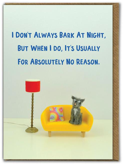 Bark At Night