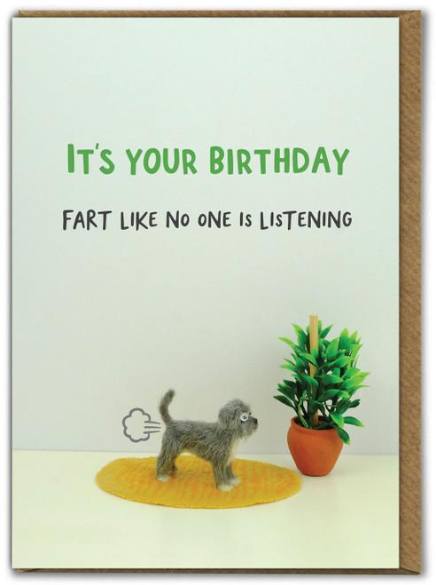 Birthday Fart