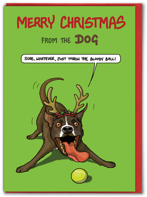 Merry Christmas From The Dog - Bloody Ball