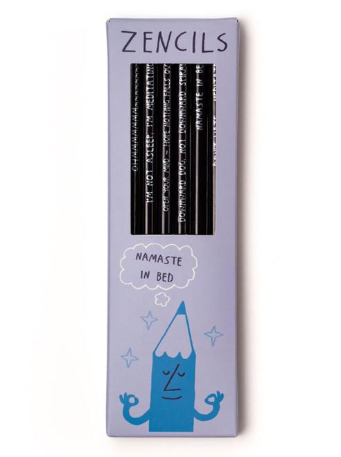 Zencils Pencils - Set of 6