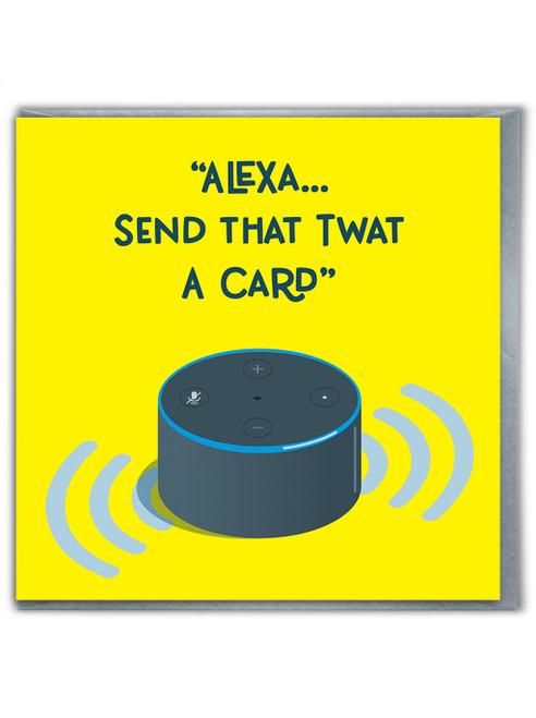 Alexa Twat Card