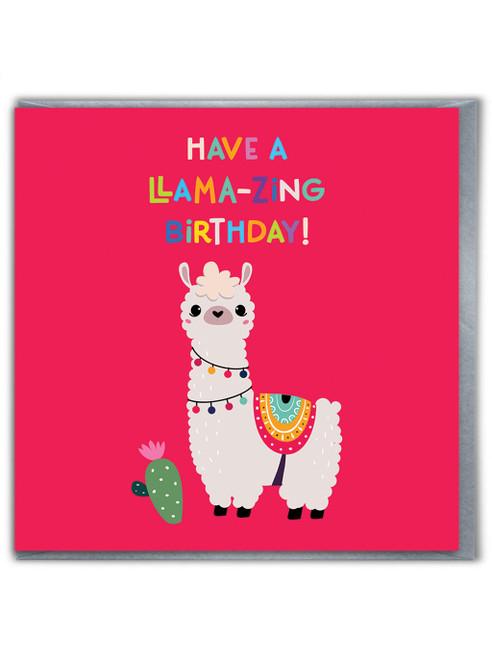 Llama-zing Birthday Card