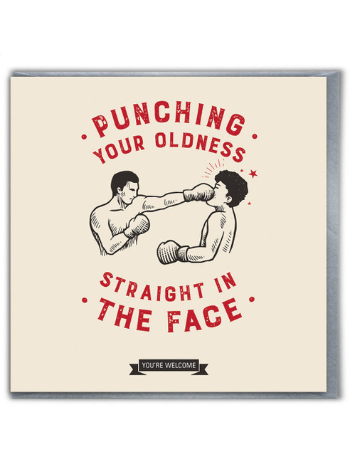 Punching Your Oldness Card