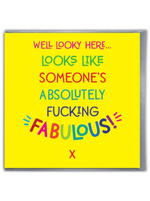 Fucking Fabulous Card