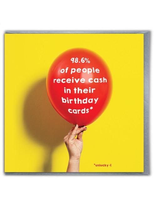 Receive Cash Birthday Card