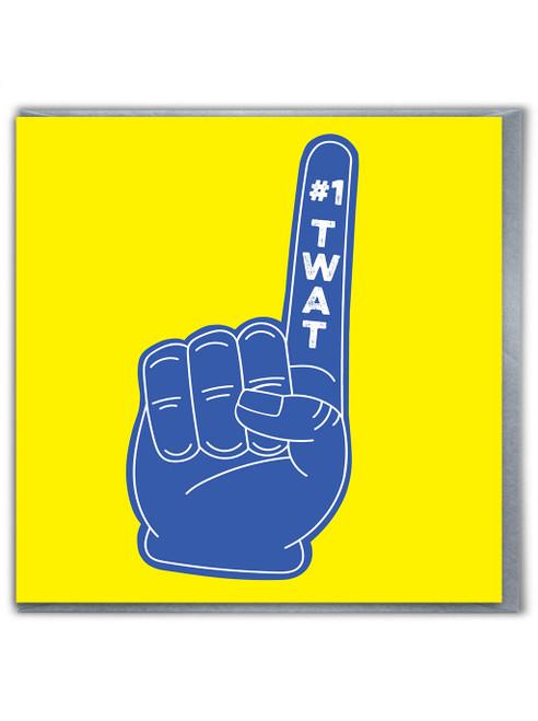 Number 1 Twat Card