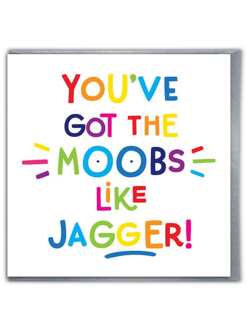 Moobs Like Jagger Card