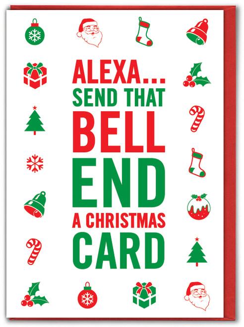 Alexa Bell End Xmas Card
