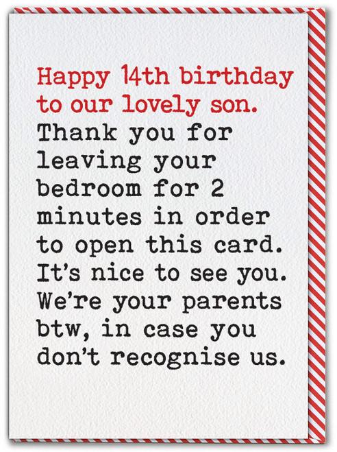 Son 14th Birthday