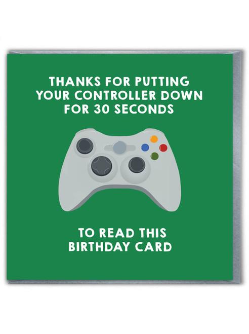 Game Controller Green