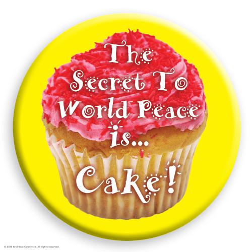 World Peace Cake Badge