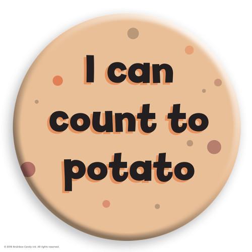 Count To Potato Badge