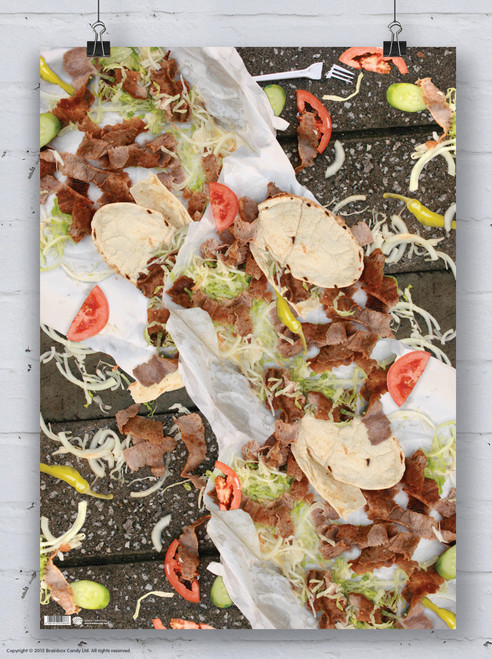 Kebab Wrapping Paper