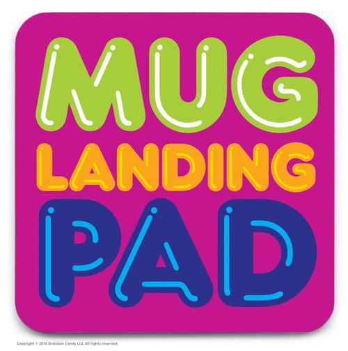 Landing Pad Coaster