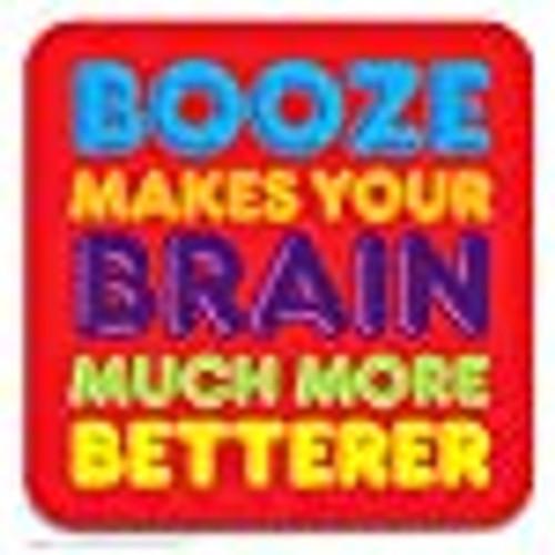 Booze Brain Coaster