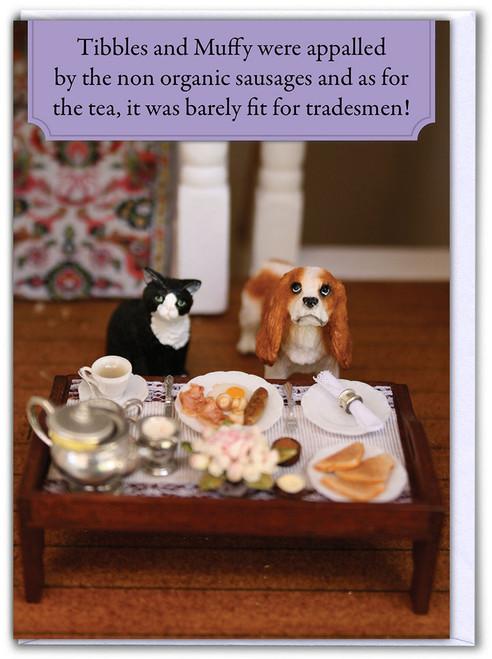 Posh Pets Birthday Card