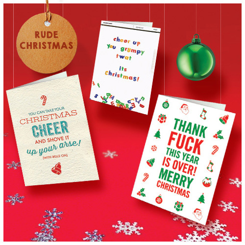 click here to shop rude christmas cards