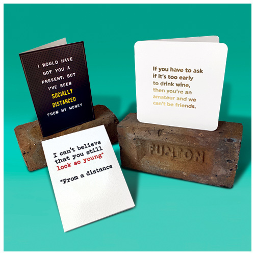Click here to shop our funny cards range