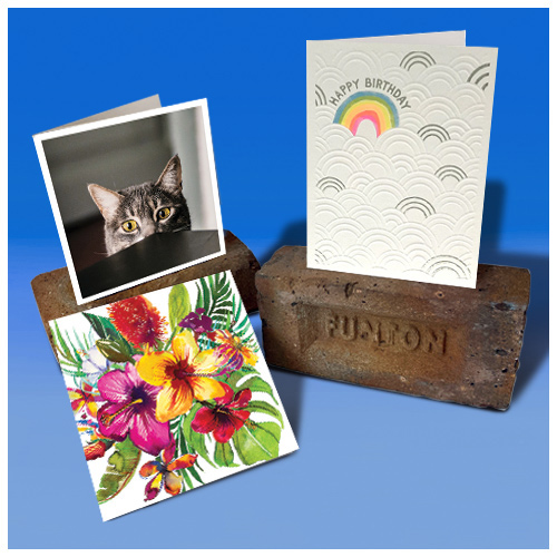 click here to shop our non humour cards