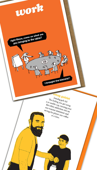 Modern Toss Funny Cards